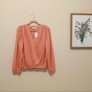 Elodie Pink Heart Blouse